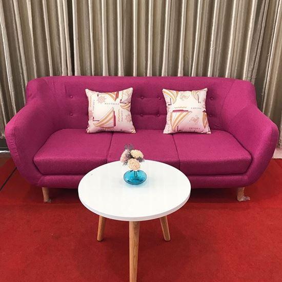 Nội thất Phan Thiết, Sofa băng Phố Việt 180 x 80 x 80 cm (Hồng)