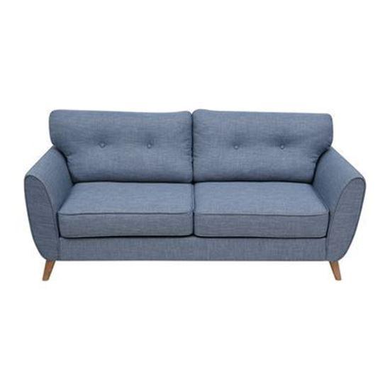 Nội thất Phan Thiết, Sofa băng Phố Việt 180 x 85 x90 cm (Xanh ghi)