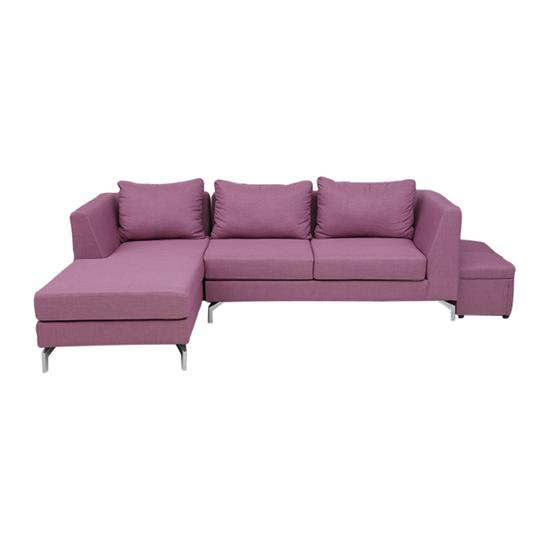 Nội thất Phan Thiết, Sofa góc Phố Việt 240 x 160 x 80 cm (Tím)