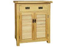 Nội thất Phan Thiết, tủ giày 2 cánh lá sách gỗ sồi IBIE IBH21 80 x 40 x 100 cm (Nâu gỗ)