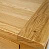 Nội thất gỗ Phan Thiết, tủ giày 4 cánh lá sách gỗ sồi 120 x 40 x 100 cm (Nâu gỗ)