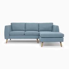 Sofa góc trung bình Phố Việt (Màu xanh lơ) tại Phan Thiết