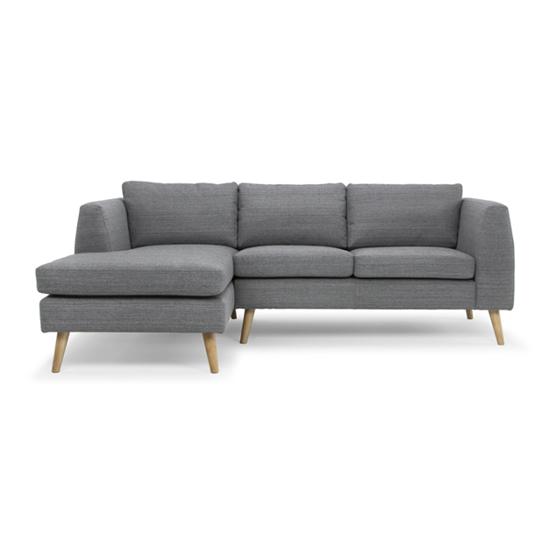 Bộ ghế sofa góc trung bình Phố Việt (Màu xám đậm) tại Phan Thiết
