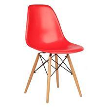 Nội thất Phan Thiết, ghế chân gỗ DSW Phố Việt 53 x 46 x 83 cm (Đỏ)