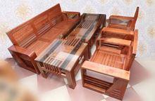 Salon gỗ sồi tự nhiên màu cánh dán