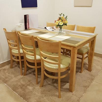 Bàn ăn gia đình 6 ghế tại nội thất Phan Thiết, Bình Thuận