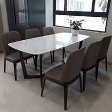 Bộ bàn ghế ăn mặt đá hiện đại và sang trọng tại Phan Thiết