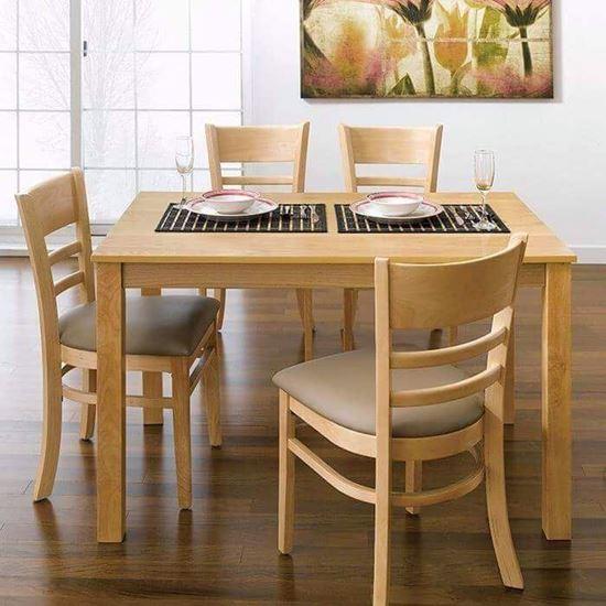 Bộ bàn ăn 4 ghế cabin