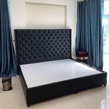 Giường ngủ hiện đại bọc da